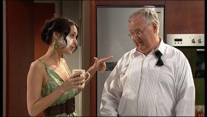 Carmella Cammeniti, Harold Bishop in Neighbours Episode 5117