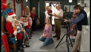 Toadie Rebecchi, Harold Bishop, Charlie Hoyland, Steph Scully in Neighbours Episode 5117