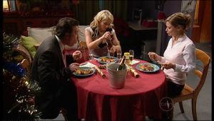 Allan Steiger, Pepper Steiger, Christine Rodd in Neighbours Episode 5118