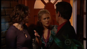 Rosie Cammeniti, Pepper Steiger, Paul Robinson in Neighbours Episode 5121