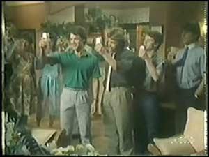 Paul Robinson, Shane Ramsay, Danny Ramsay, Peter Kirk in Neighbours Episode 0017