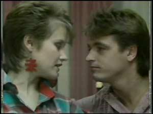 Daphne Clarke, Shane Ramsay in Neighbours Episode 0102