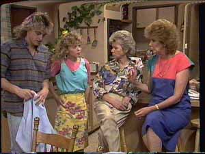 Shane Ramsay, Charlene Mitchell, Helen Daniels, Madge Bishop in Neighbours Episode 0415