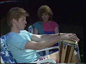 Clive Gibbons, Madge Bishop in Neighbours Episode 0415