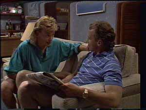 Scott Robinson, Jim Robinson in Neighbours Episode 0415