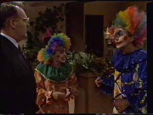 Harold Bishop, Charlene Mitchell, Madge Bishop in Neighbours Episode 0415