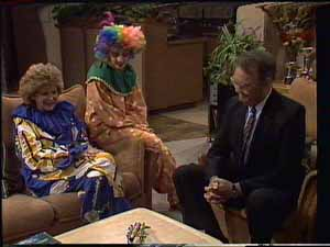 Madge Bishop, Charlene Mitchell, Harold Bishop in Neighbours Episode 0415