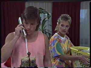 Mike Young, Daphne Clarke in Neighbours Episode 0418