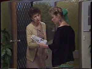 Nell Mangel, Daphne Clarke in Neighbours Episode 0419