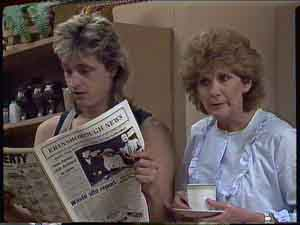 Shane Ramsay, Madge Bishop in Neighbours Episode 0419