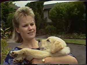 Daphne Clarke, Bouncer in Neighbours Episode 0420