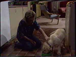 Daphne Clarke, Bouncer in Neighbours Episode 0421