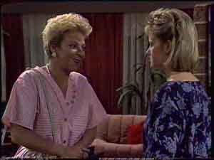 Eileen Clarke, Daphne Clarke in Neighbours Episode 0421