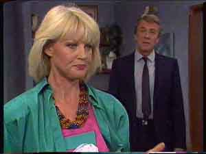 Rosemary Daniels, Gerard Singer in Neighbours Episode 0422
