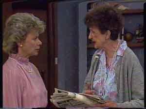 Helen Daniels, Nell Mangel in Neighbours Episode 0423