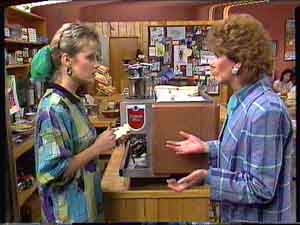 Daphne Clarke, Madge Mitchell in Neighbours Episode 0424