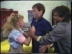 Charlene Mitchell, Gary West, Darren Porter in Neighbours Episode 0424