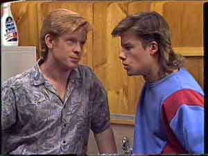Clive Gibbons, Mike Young in Neighbours Episode 0425