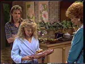 Shane Ramsay, Charlene Mitchell, Madge Bishop in Neighbours Episode 0425
