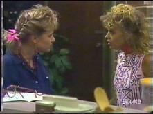 Daphne Clarke, Charlene Mitchell in Neighbours Episode 0473