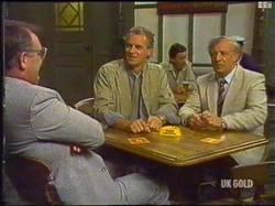 Harold Bishop, Jim Robinson, Rob Lewis in Neighbours Episode 0475