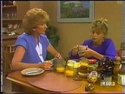 Madge Bishop, Charlene Mitchell in Neighbours Episode 0475