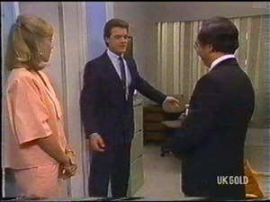 Jane Harris, Paul Robinson, Mr Udagawa in Neighbours Episode 0477