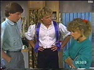 Warren Murphy, Henry Ramsay, Charlene Mitchell in Neighbours Episode 0478