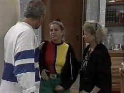 Jim Robinson, Lucy Robinson, Helen Daniels in Neighbours Episode 1449