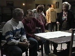 Jim Robinson, Doug Willis, Pam Willis, Josh Anderson, Helen Daniels in Neighbours Episode 1450