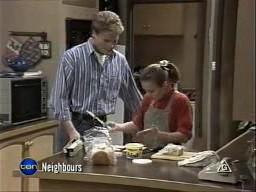 Adam Willis, Gemma Ramsay in Neighbours Episode 1450