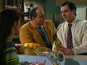 Susan Kennedy, Philip Martin, Karl Kennedy in Neighbours Episode 2917