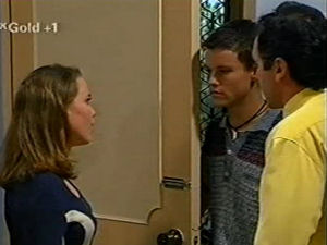 Libby Kennedy, Martin Pike, Karl Kennedy in Neighbours Episode 2917