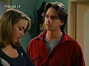 Darren Stark, Libby Kennedy in Neighbours Episode 2918