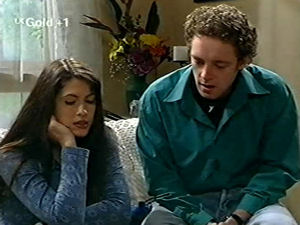Ben Atkins, Sarah Beaumont in Neighbours Episode 2918