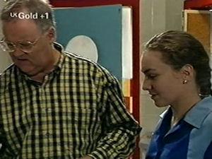 Harold Bishop, Debbie Martin in Neighbours Episode 2918
