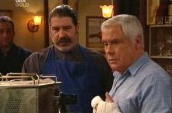 Rocco Cammeniti, Lou Carpenter in Neighbours Episode 4335