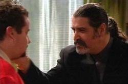 Toadie Rebecchi, Rocco Cammeniti in Neighbours Episode 4335
