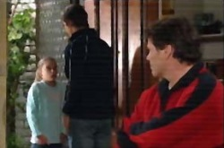 Summer Hoyland, Jack Scully, Joe Scully in Neighbours Episode 4336