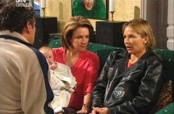 Joe Scully, Oscar Scully, Lyn Scully, Steph Scully in Neighbours Episode 4337