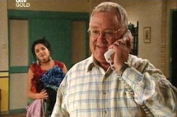 Harold Bishop, Sky Mangel in Neighbours Episode 4340