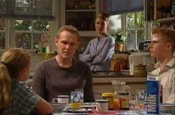 Max Hoyland, Summer Hoyland, Boyd Hoyland, Izzy Hoyland in Neighbours Episode 4342
