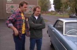 Stuart Parker, Jonathan Verne in Neighbours Episode 4344