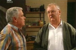 Harold Bishop, Lou Carpenter in Neighbours Episode 4344