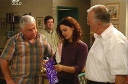 Lou Carpenter, Liljana Bishop, Harold Bishop, David Bishop in Neighbours Episode 4344