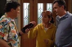 Joe Scully, Susan Kennedy, Karl Kennedy in Neighbours Episode 4345