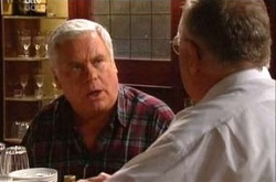 Lou Carpenter, Harold Bishop in Neighbours Episode 4351