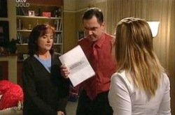 Susan Kennedy, Karl Kennedy, Izzy Hoyland in Neighbours Episode 4356