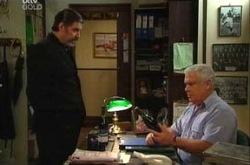 Rocco Cammeniti, Lou Carpenter in Neighbours Episode 4383