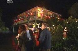 Liljana Bishop, David Bishop, Serena Bishop, Harold Bishop in Neighbours Episode 4394